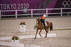 Gavia Gonzalez Francisco, ESP, Source de la Faye, 224<br /> Olympic Games Tokyo 2021<br /> © Hippo Foto - Stefan Lafrentz<br /> 26/07/2021no