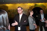 DAVID FAULKENER, Opening of Eadweard Muybridge and Rachel Whiteread exhibitions. Tate Britain. Millbank. 6 September 2010. -DO NOT ARCHIVE-© Copyright Photograph by Dafydd Jones. 248 Clapham Rd. London SW9 0PZ. Tel 0207 820 0771. www.dafjones.com.