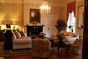 Reception area of the Martha Washington Hotel and Spa, Abingdon Virginia.