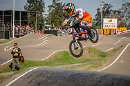 #42 (SCHIPPERS Jay) NED during practice at Round 9 of the 2019 UCI BMX Supercross World Cup in Santiago del Estero, Argentina