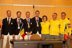 Bronze Team<br /> Zaventem 2021<br /> © Hippo Foto - Sharon Vandeput<br />  9/08/21