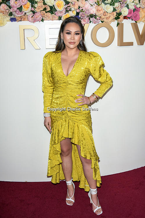 DOROTHY WANG attends the 3rd Annual #REVOLVEawards at Goya Studios in Los Angeles, California