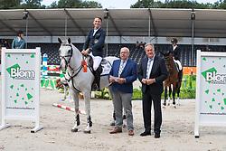 Ramsay Andrew, GBR, Gerlos, Van Daalen Andries, Blom Rinus<br /> KWPN Kampioenschappen - Ermelo 2018<br /> © Hippo Foto - Dirk Caremans<br /> 14/08/2018