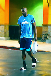EXCLUSIVE: Lamar Odom was spotted grocery shopping with a Khloe Kardashian lookalike mystery girl in Los Angeles, CA. The two dressed down and wore comfortable clothes and were seen taking a walk back home to their apartment complex. Earlier reports indicate that the basketball player was spotted out with this mystery girl before and he claims that she is his assistant. 24 Aug 2017 Pictured: Lamar Odom was spotted grocery shopping with a Khloe Kardashian lookalike mystery girl in Los Angeles, CA. The two were dressed down and wore comfortable clothes and were seen taking a walk back home to their apartment complex. Earlier reports indicate that the basketball player was spotted out with this mystery girl before and he claims that she is his assistant. Photo credit: Marksman / MEGA TheMegaAgency.com +1 888 505 6342