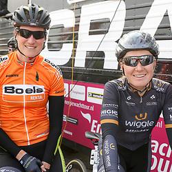 BORKUM (GER) wielrennen <br />De slotetappe van de Energiewachttour 2016 werd verreden op het Duitse Waddeneiland Borkum. Vera Koedooder, Amy Pieters