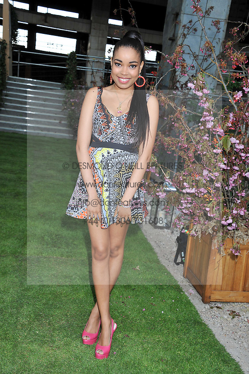 DIONNE BROMFIELD at Gabrielle's Gala an annual fundraising evening in aid of Gabrielle's Angel Foundation for Cancer Research held at Battersea Power Station, London on 2nd May 2013.