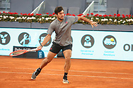 Cristian Garin of Chile during the Mutua Madrid Open 2021, Masters 1000 tennis tournament on May 7, 2021 at La Caja Magica in Madrid, Spain - Photo Laurent Lairys / ProSportsImages / DPPI