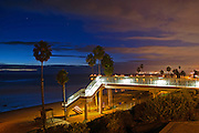T-Street at Night in San Clemente