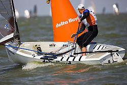 08_003347 © Sander van der Borch. Medemblik - The Netherlands,  May 24th 2008 . Day 4 of the Delta Lloyd Regatta 2008.