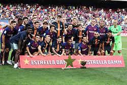 August 15, 2018 - Barcelona, Spain - Fc Barcelona, champion of the Joan Gamper trophy, played at the Camp Nou, on 15th August, 2018, in Barcelona, Spain. (Credit Image: © Joan Valls/NurPhoto via ZUMA Press)