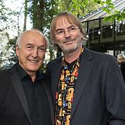 NLD/Hilversum/20181008 - Boekpresentatie autobiografie Peter Koelewijn, Peter Koelewijn en Tjerk Lammers
