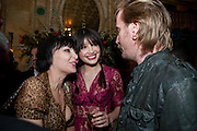 PEARL LOWE; DAISY LOWE; RHYS IFANS, Criterion Restaurant  celebrates its 135th anniversary. Piccadilly Circus. London. 2 February 2010