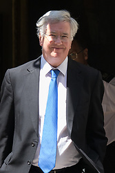 Downing Street, London, June 16th 2015. Defence Secretary Michael Fallon leaves Downing Street.