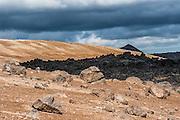 Leirhnjúkur is a lava area near Myvatn in north-east Iceland.