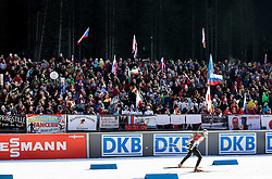 Aliaksandr Darozhka (BLR) at warming up during Men 12,5 km Pursuit at day 3 of IBU Biathlon World Cup 2015/16 Pokljuka, on December 19, 2015 in Rudno polje, Pokljuka, Slovenia. Photo by Vid Ponikvar / Sportida