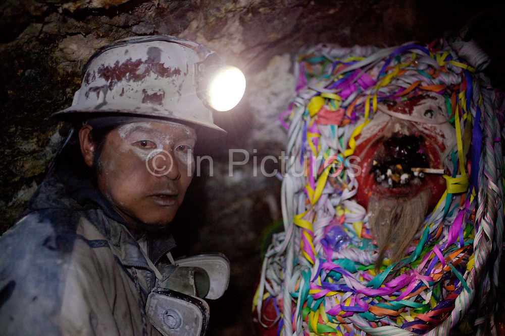 Potosi is the most famous city in Bolivia for silver and tin mining, Cerro Rico which means rich hill has been used to extract silver for over four hundred years and is still mined today, the conditions are terrible for the workers and silicosis is very coomon, many of the miners are underage and die in accidents, they worship El Tio - the God of the underworld who is said to have an appetite for destruction and needs to be appeased with coca, alcohol and tobacco to keep the miners safe