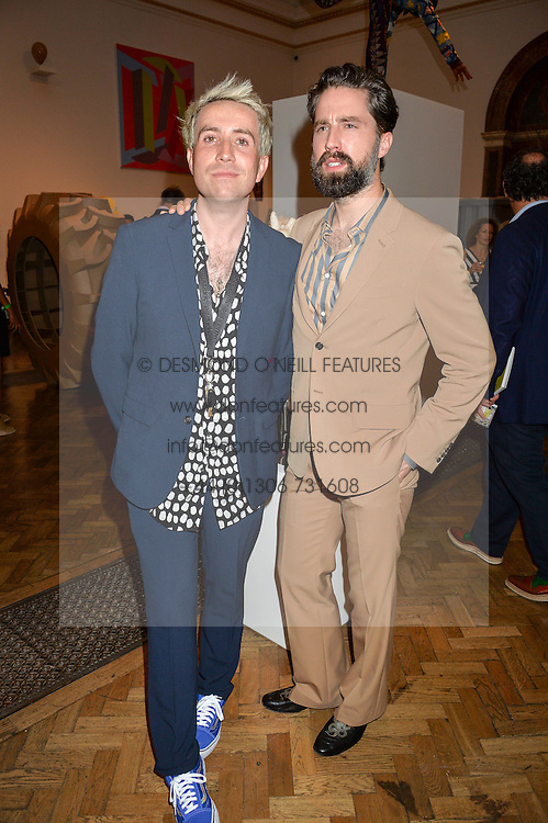 Left to right, NICK GRIMSHAW and JACK GUINNESS at the Royal Academy of Arts Summer Exhibition Preview Party at The Royal Academy of Arts, Burlington House, Piccadilly, London on 7th June 2016.
