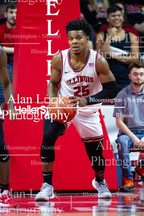 NORMAL, IL - January 19: Jaycee Hillsman during a college basketball game between the ISU Redbirds and the Loyola University Chicago Ramblers on January 19 2020 at Redbird Arena in Normal, IL. (Photo by Alan Look)