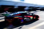 January 5-7, 2018. IMSA Weathertech Series ROAR before 24 test. 48 Paul Miller Racing, Lamborghini Huracan GT3, Bryan Sellers, Bryce Miller, Madison Snow, Andrea Caldarelli