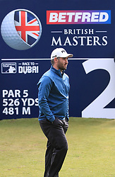 Oliver Farr during day two of the Betfred British Masters at Hillside Golf Club, Southport.