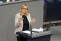 DEU, Deutschland, Germany, Berlin, 29.01.2021: Marja-Liisa Völlers (SPD) in der Plenarsitzung im Deutschen Bundestag.