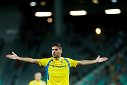 August 3, 2017 - Ljubljana, Slovenia, Slovenia - Matija Sirok  of NK Domzale during the UEFA Europa League Third Qualifying Round match between SC Freibur and NK Domzale at Arena Stozice on 3 rd August , 2017 in Ljubljana, Slovenia. (Credit Image: © Damjan Zibert/NurPhoto via ZUMA Press)