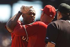 20110904 - Arizona Diamondbacks at San Francisco Giants (MLB Baseball)