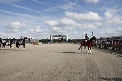 Bosmans Kara (BEL) - Katharina<br /> SBB Competitie Jonge Paarden - Nationaal Kampioenschap - Kieldrecht 2014<br /> © Dirk Caremans