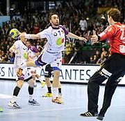 DESCRIZIONE : HandbaLL Cup Finale EHF Homme<br /> GIOCATORE : Valero RIVERA<br /> SQUADRA : Nantes <br /> EVENTO : Coupe EHF Finale<br /> GARA : NANTES Rhein Neckar<br /> DATA : 19 05 2013<br /> CATEGORIA : Handball Homme<br /> SPORT : Handball<br /> AUTORE : JF Molliere <br /> Galleria : France Hand 2012-2013 Action<br /> Fotonotizia : HandbaLL Cup Finale EHF Homme<br /> Predefinita :