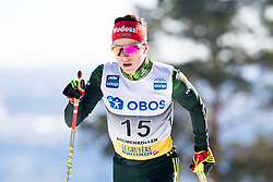 March 10, 2019 - Oslo, NORWAY - 190310 Katharina Hennig of Germany competes in the women's 30 km classic technique mass start during the FIS World Cup on March 10, 2019 in Oslo..Photo: Jon Olav Nesvold / BILDBYRÃ…N / kod JE / 160424 (Credit Image: © Jon Olav Nesvold/Bildbyran via ZUMA Press)