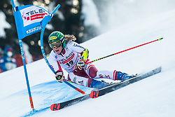 Katharina Liensberger (AUT) during Ladies' Giant Slalom at 57th Golden Fox event at Audi FIS Ski World Cup 2020/21, on January 17, 2021 in Podkoren, Kranjska Gora, Slovenia. Photo by Vid Ponikvar / Sportida