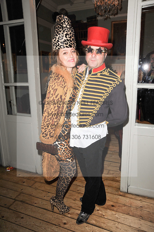 ALICE TEMPERLEY and her husband LARS VON BENNIGSEN at a party to celebrate the 1st anniversary of Alice Temperley's label held at Paradise, Kensal Green, London W10 on 25th November 2010.