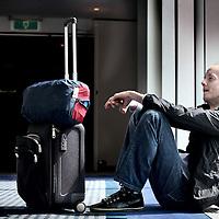 Nederland, Amsterdam , 15 mei 2010..De Belgische acteur Oscar van Rompay..Foto:Jean-Pierre Jans