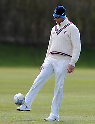 Somerset's Marcus Trescothick - Photo mandatory by-line: Harry Trump/JMP - Mobile: 07966 386802 - 24/03/15 - SPORT - CRICKET - Pre Season Fixture - Day 2 - Somerset v Glamorgan - Taunton Vale Cricket Club, Somerset, England.