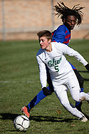 Fairport plays Shenendehowa in a New York State Public High School Athletic Association Class AA boys' soccer semifinal game at  in Middletown, N.Y., on Nov.16, 2019.