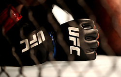 A general view of fighters UFC branded gloves at UFC 204 at Manchester Arena.