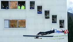 31.12.2016, Olympiaschanze, Garmisch Partenkirchen, GER, FIS Weltcup Ski Sprung, Vierschanzentournee, Garmisch Partenkirchen, Qualifikation, im Bild Markus Eisenbichler (GER) // Markus Eisenbichler of Germany during his Qualification Jump for the Four Hills Tournament of FIS Ski Jumping World Cup at the Olympiaschanze in Garmisch Partenkirchen, Germany on 2016/12/31. EXPA Pictures © 2016, PhotoCredit: EXPA/ Jakob Gruber