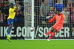 March 21, 2019 - Orlando, Florida, USA - US goalkeeper Sean Johnson (1) in action during an international friendly between the US and Ecuador at Orlando City Stadium on March 21, 2019 in Orlando, Florida. ...©2019 Scott A. Miller. (Credit Image: © Scott A. Miller/ZUMA Wire)