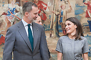 022119 Spanish Royals attends the Delivery of the National Research Awards 2018