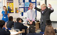 October 19 2012 Boris Johnson Visiting Pimlico Academy School
