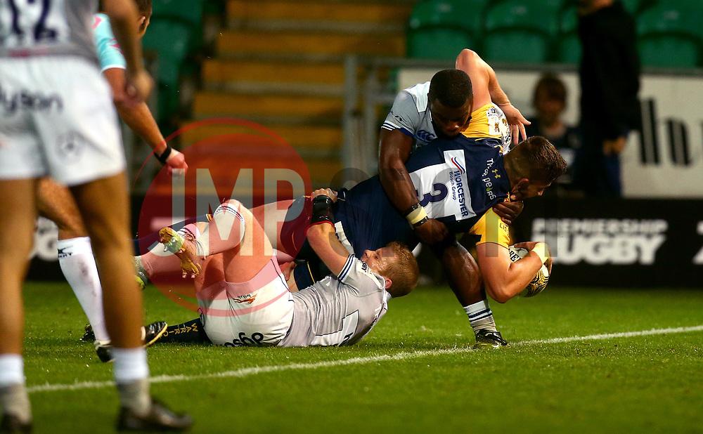 - Mandatory by-line: Robbie Stephenson/JMP - 28/07/2017 - RUGBY - Franklin's Gardens - Northampton, England - Worcester Warriors v Bath Rugby - Singha Premiership Rugby 7s