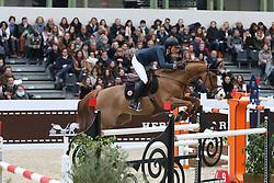 Cordon Pilar, (ESP), Gribouille du Lys<br /> Grand Prix Hermes <br /> Saut Hermes Paris 2016<br /> © Hippo Foto - Counet Julien