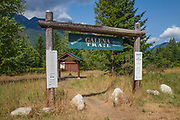 Galena Trail along Slocan Lake, Rosebery, New Denver, Slocan Valley, West Kootenay, British Columbia, Canada