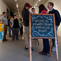 gallupARTS welcomes members to the ART123 Gallery in Gallup on October 10, 2019 for their annual Member Appreciation Night.