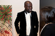 DAVID ADJAYE, Chris Ofili dinner to celebrate the opening of his exhibition. Tate. London. 25 January 2010