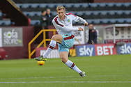 Burnley forward Rouwen Hennings  during the Sky Bet Championship match between Burnley and Brighton and Hove Albion at Turf Moor, Burnley, England on 22 November 2015. Photo by Simon Davies.