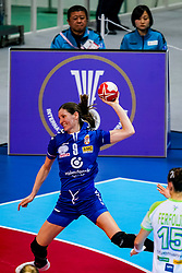 06-12-2019 JAP: Serbia - Slovenia, Kumamoto<br /> last match groep A at 24th IHF Women's Handball World Championship. / Nina Zabjek #9 of Slovenia