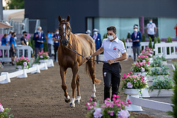Said Abdel, EGY, Bandit Savoie, 331<br /> Olympic Games Tokyo 2021<br /> © Hippo Foto - Dirk Caremans<br /> 31/07/2021