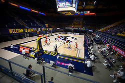 Feb 25, 2021; Berkeley, California, USA; The California Golden Bears take on the Oregon State Beavers during the first half of an NCAA college basketball game at Haas Pavilion. Mandatory Credit: D. Ross Cameron-USA TODAY Sports