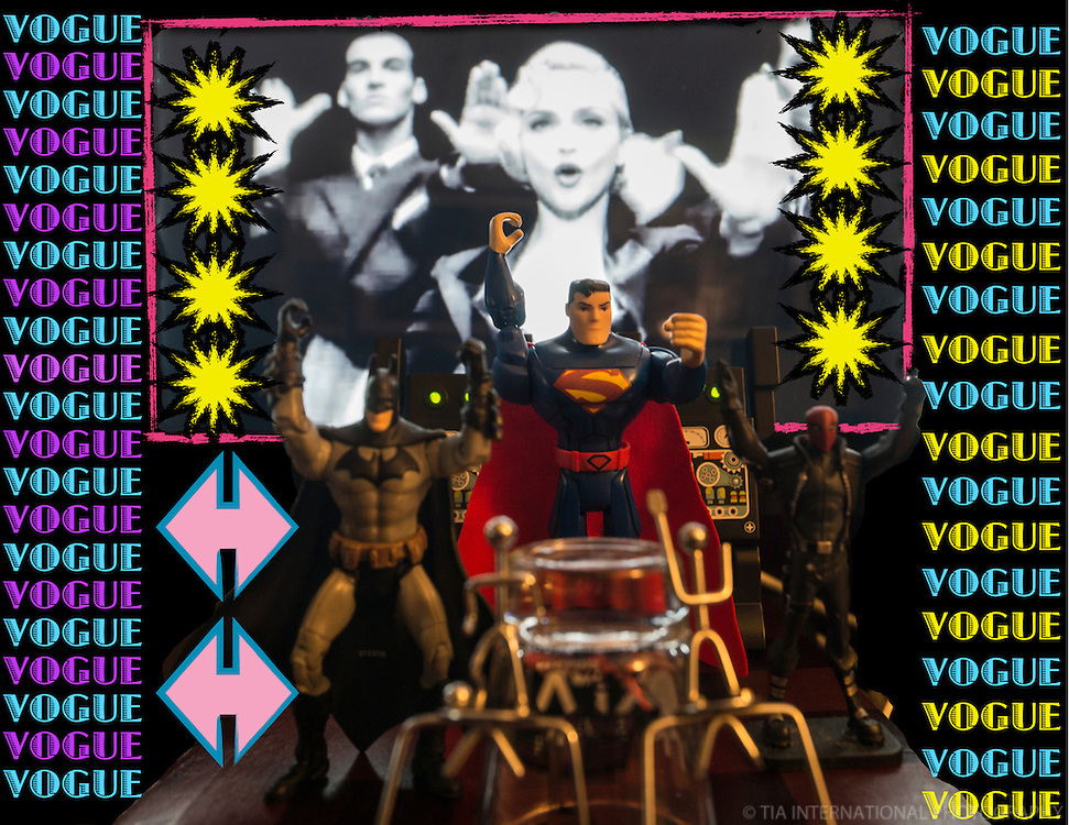 MARCH 3rd:  Superheroes' Post-Victory Dive Bar Dance